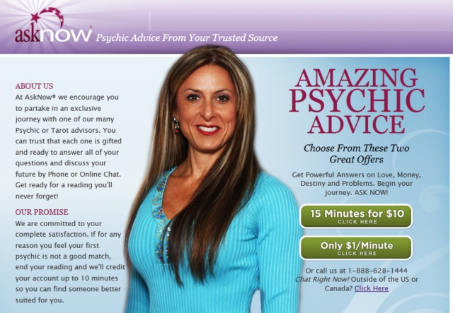 Asknow a Trustworthy Psychic Chat Online Source